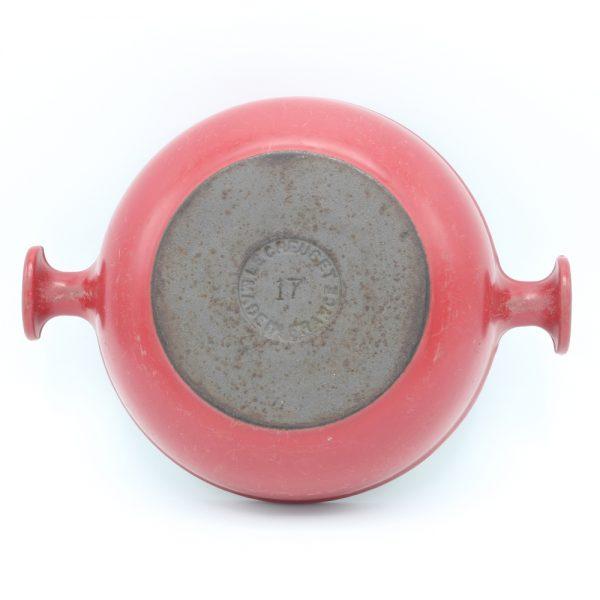 Le Creuset gietijzeren ovenschaal Enzo Mari Mama 17 centimeter rond cast iron oven dish