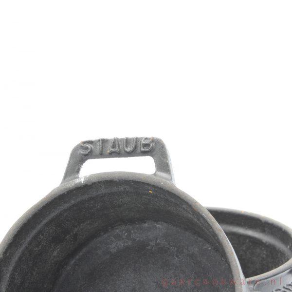 vintage Staub gietijzeren pannen cast iron mini casseroles