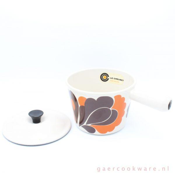 le creuset gietijzeren fonduepan cast iron fondue pan