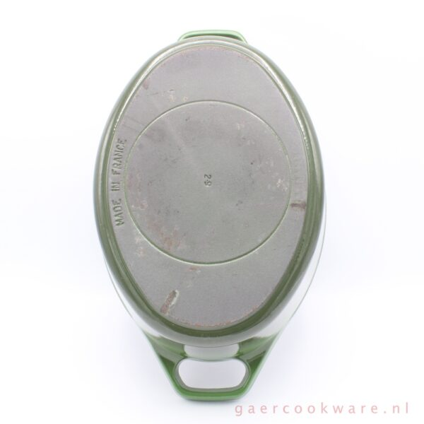 Invicta gietijzeren pan groen green cast iron dutch oven