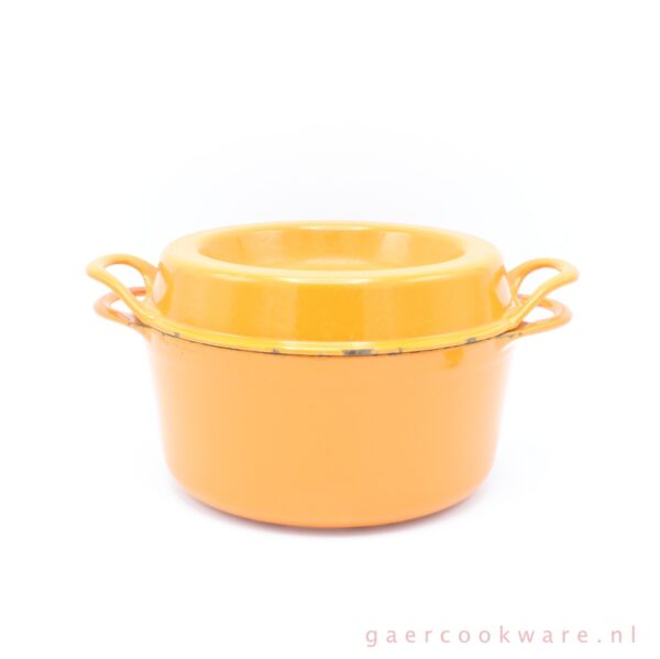 Cousances gietijzeren braadpan oranje cast iron orange