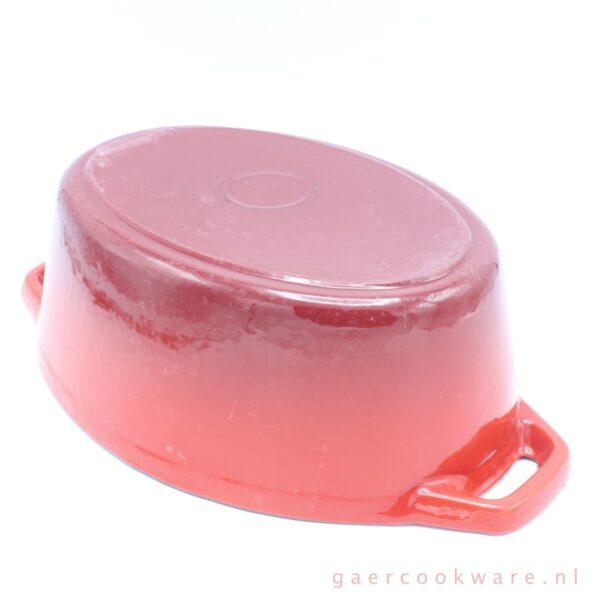 gietijzeren braadpan rood cast iron dutch oven red