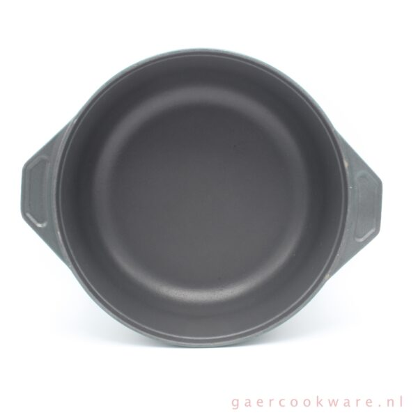 Gietijzeren braadpan donkergroen cast iron dutch oven dark green