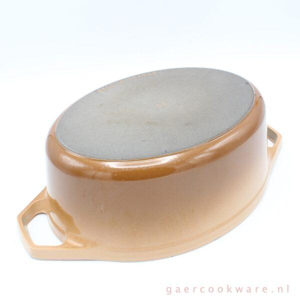 gietijzeren braadpan beige bruin cast iron dutch french oven