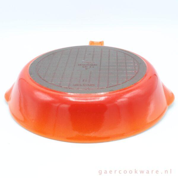 Descoware gietijzeren koekenpan cast iron skillet 9 inch