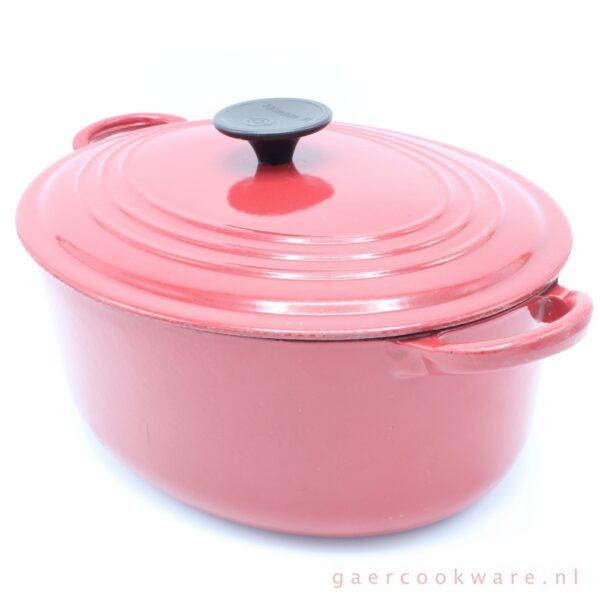 Le Creuset gietijzeren pan rood cast iron casserole