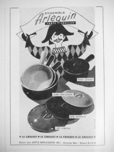 le creuset arlequin casseroles set
